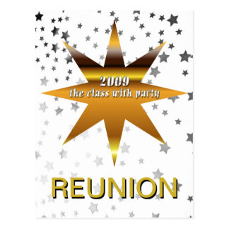 Class of 2009 Reunion Stars Postcard