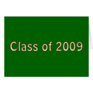 Class of 2009 - Style 5 Card