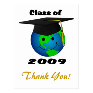 Class of 2009 Thank You Postcard