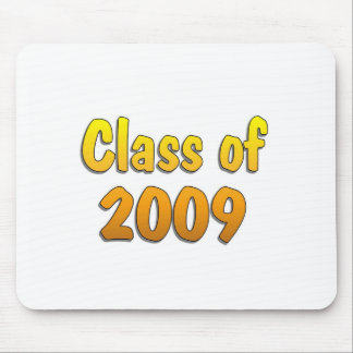 Class of 2009 Yellow Mouse Pad