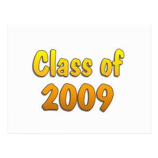 Class of 2009 Yellow Postcard