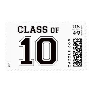 Class Of 2010 - Black Postage