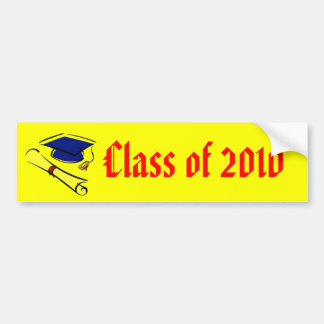 Class of 2010 Bumper Sticker