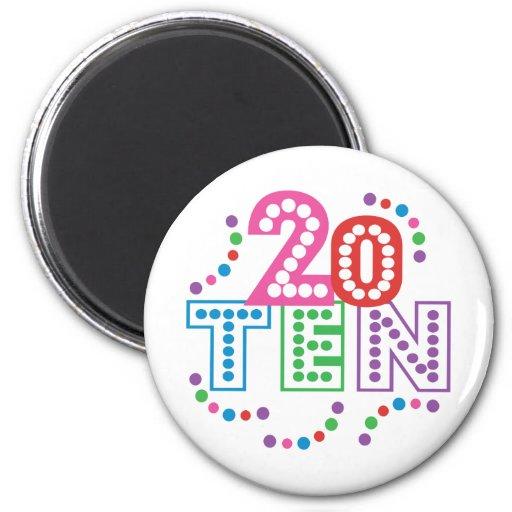 Class of 2010 Celebration Fridge Magnets