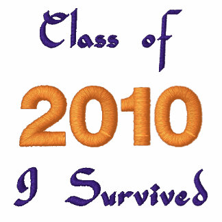 Class of 2010 Embroidered T-shirt