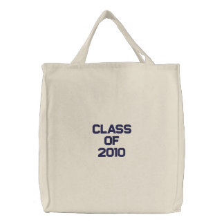 Class Of 2010 Embroidered Tote Bag