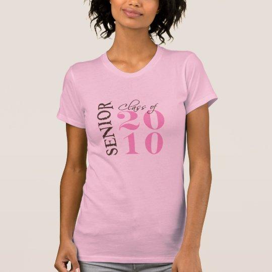 Class of 2010 girls brown pink T-Shirt