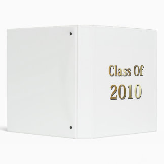 Class Of 2010 Gold Binder