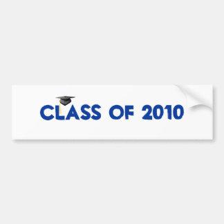 Class of 2010 graduation bumper sticker