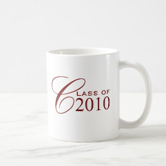 Class of 2010 Graduation Gift Mugs - Red