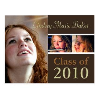 Class of 2010 Graduation Invitation Postcards