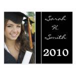 Class of 2010 Graduation Invitations Postcard