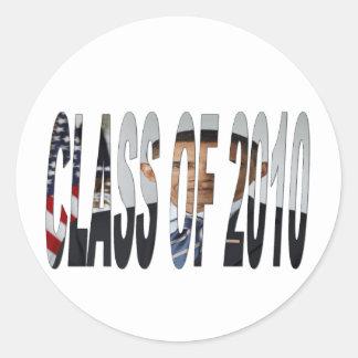 CLASS of 2010 - Obama Round Sticker