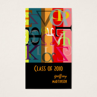 Class of 2010 profile cards