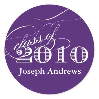 Class of 2010 Sticker- Customize it! sticker