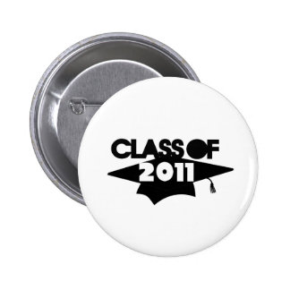 Class of 2011 2 inch round button