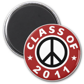 Class Of 2011 2 Inch Round Magnet