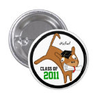 Class of 2011 Add Name Button Dog 2