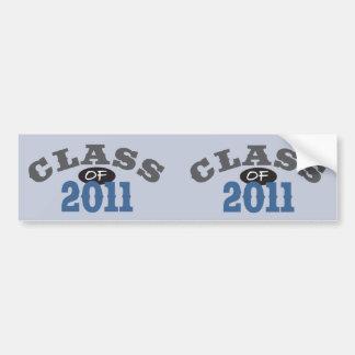 Class Of 2011 Blue Bumper Sticker