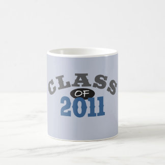 Class Of 2011 Blue Coffee Mug
