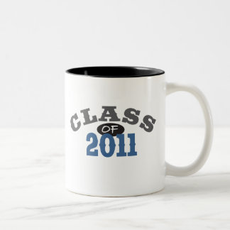 Class Of 2011 Blue Two-Tone Coffee Mug