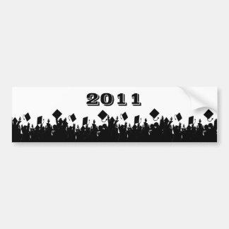 Class of 2011 BumperSticker ChooseBkGrd/Year/color Bumper Sticker