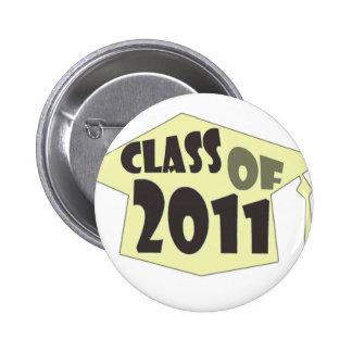 Class of 2011 buttons