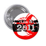Class of 2011 Button Neon Paint 2