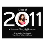 Class of 2011 Circle Photo Graduation Announcement