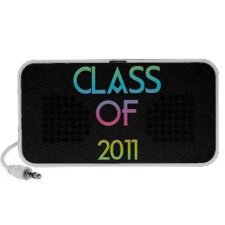 Class of 2011 doodle speaker