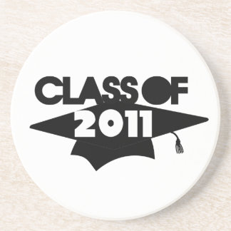 Class of 2011 drink coaster