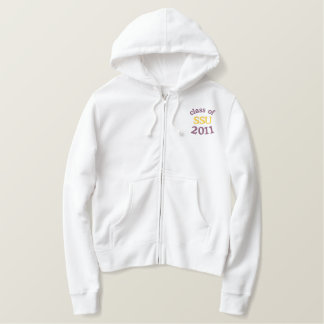 Class of 2011 Embroidered Zip Hoodie