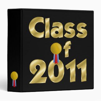 Class of 2011 Gold Binder