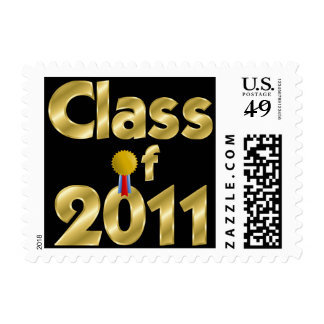 Class of 2011 Gold US Postage Stamp