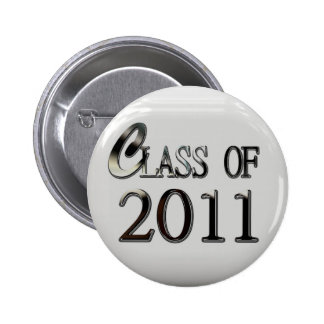 Class Of 2011 Graduation Button Pin