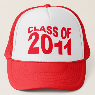 Class of 2011 Graduation Hat Red