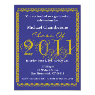 Class Of 2011 Graduation Invitation EB162
