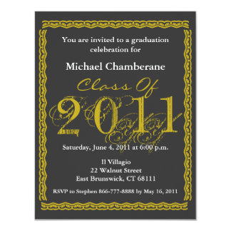 Class Of 2011 Graduation Invitation EBX165