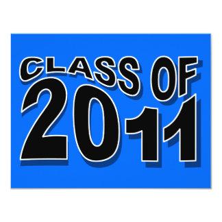 Class of 2011 Graduation Invitation F318 Neon