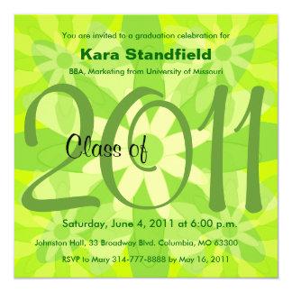 Class Of 2011 Graduation Invitation FG134