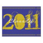 "Class Of 2011 Graduation Invitation GB161 4.25"" X 5.5"" Invitation Card"