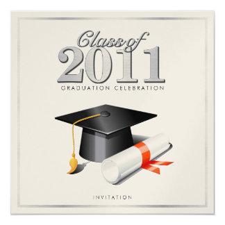 Class of 2011 Graduation Invitation (Gold)