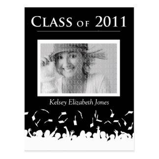 Class of 2011 Graduation Invitation Postcard