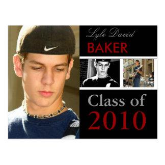 Class of 2011 Graduation Invitation Postcards