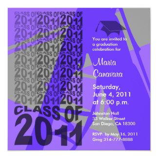 Class Of 2011 Graduation Invitation TXD286