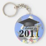 Class of 2011 Graduation Key-Chain blue Key Chain