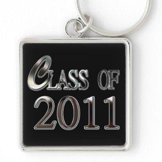 Class Of 2011 Graduation Keychain keychain