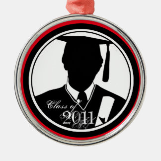 Class Of 2011 Graduation Ornament Boy Gown