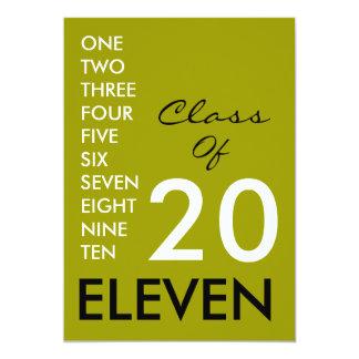 Class of 2011 Graduation Party Invitation