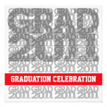 Class Of 2011 Graduation Party Invitation 03A